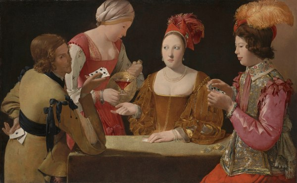 The Cheat with the Ace of Clubs by Georges de La Tour (about 1630-34) © Kimbell Art Museum, Fort Worth, Texas