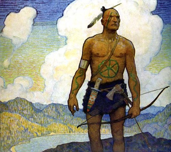 The last of the Mohicans by N.C. Wyeth (1919)