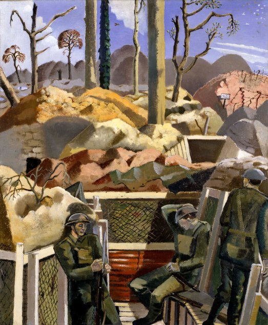 Spring in the Trenches, Ridge Wood 1917 by Paul Nash (1917) Imperial War Museum, London © Tate