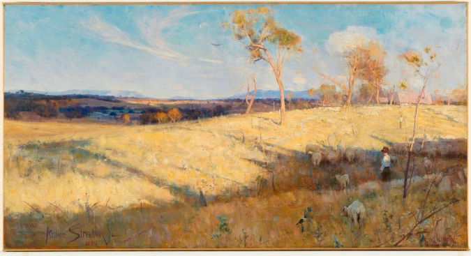Golden Summer, Eaglemont by Arthur Streeton (1889) © National Gallery of Australia, Canberra