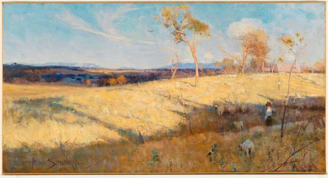 Golden Summer, Eaglemont by Arthur Streeton (1889) © National Gallery of Australia, Canberra