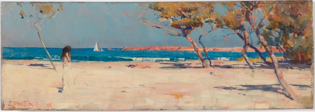Ariadne (1895) by Arthur Streeton © National Gallery of Australia, Canberra