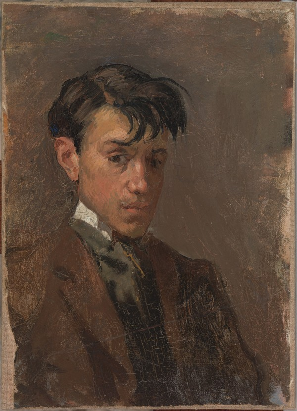 Self-portrait by Pablo Picasso ( 1896) Museu Picasso, Barcelona © Succession Picasso/DACS London, 2016