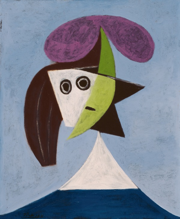 Woman in a Hat (Olga) by Pablo Picasso (1935) Musée national d'art moderne Centre Pompidou, Paris. Musée national d'art moderne / Centre de création industrielle © Succession Picasso/DACS London, 2016