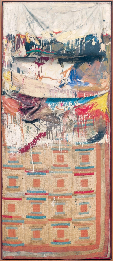 Bed (1955) by Robert Rauschenberg. The Museum of Modern Art, New York. © Robert Rauschenberg Foundation, New York