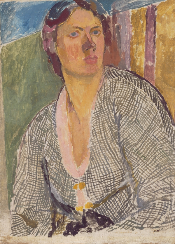 Self–Portrait (c. 1915) by Vanessa Bell © The Estate of Vanessa Bell, courtesy of Henrietta Garnett