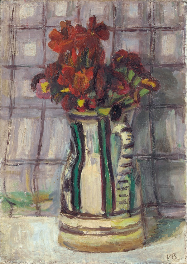 Wallflowers by Vanessa Bell (c. 1950) © The Estate of Vanessa Bell, courtesy of Henrietta Garnett. Photo credit: © Christie's Images / Bridgeman Images
