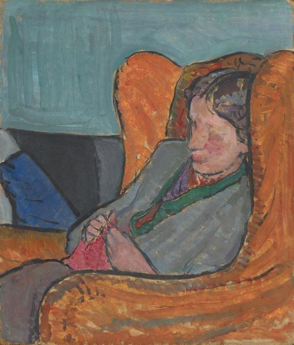 Virginia Woolf (c. 1912) by Vanessa Bell © National Portrait Gallery, London