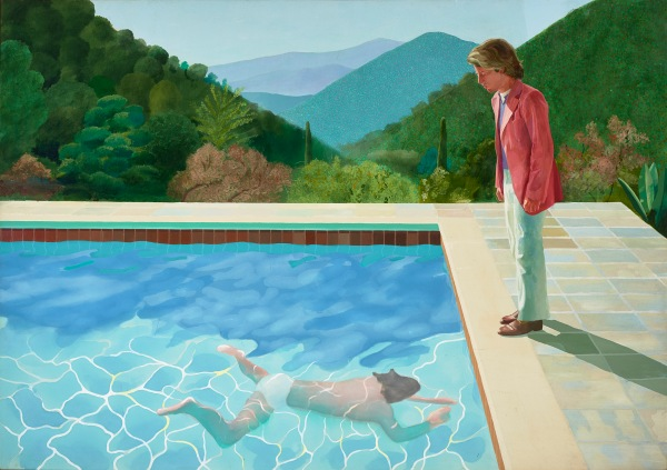 Portrait of an Artist (Pool with Two Figures) (1971) by David Hockney © David Hockney