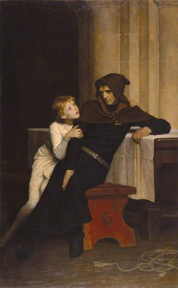 Prince Arthur and Hubert de Burgh by William Frederick Yeames (1882)