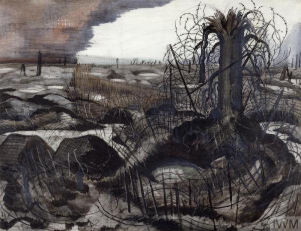 Wire (1918) by Paul Nash © IWM