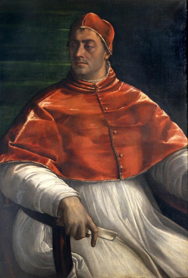 Portrait of Clement VII (1525-6) by Sebastiano del Piombo/Museo di Capodimonte, Naples © Soprintendenza Speciale per il Polo Museale di Napoli