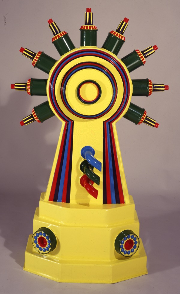 Diana as an Engine I (1963–6) Courtesy the British Council Collection © Trustees of the Paolozzi Foundation, licensed by DACS