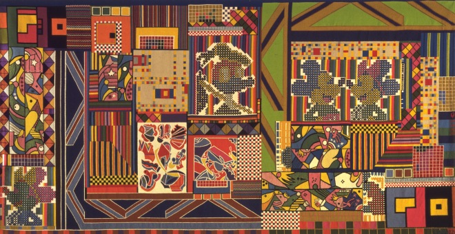 The Whitworth Tapestry (1967) Courtesy The Whitworth, University of Manchester © Trustees of the Paolozzi Foundation, licensed by DACS