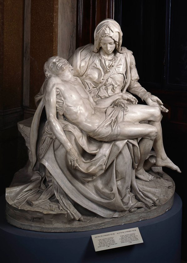 Pietà (copy after Michelangelo's Pietà, 1497-1500, St Peter's, Vatican City) © Photo Vatican Museums