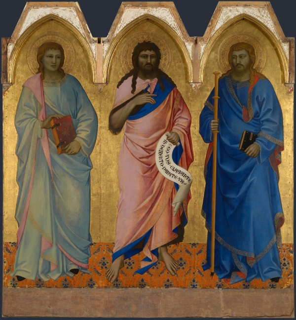 Nardo Di Cione's Three Saints (1365)