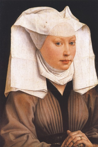 Portrait of a young woman (c.1435) by Rogier van der Weyden