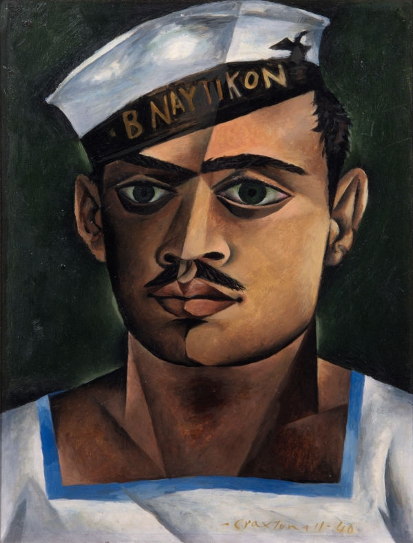 Head of a Greek Sailor (1940) by John Craxton © Estate of John Craxton. All rights reserved, DACS 2016. Photo credit: London Borough of Camden