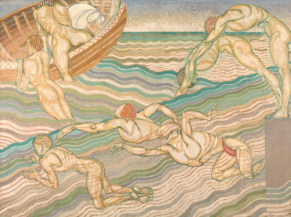 Bathing (1911) by Duncan Grant © Tate