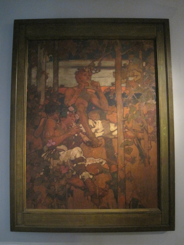 Music (1895) by Frank Brangwyn