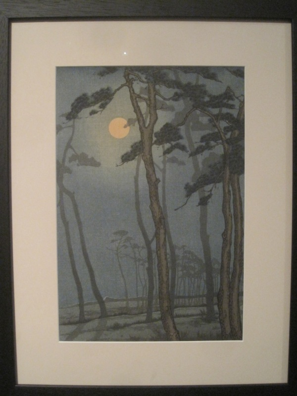 Bournemouth by moonlight (1928) by Yoshijiro Urushibara