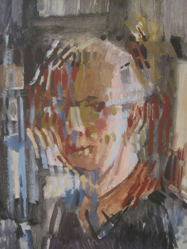 Self-portrait by Lawrence Gowing (1963)