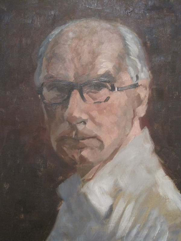 Self-portrait by John Wynne-Morgan (1960)