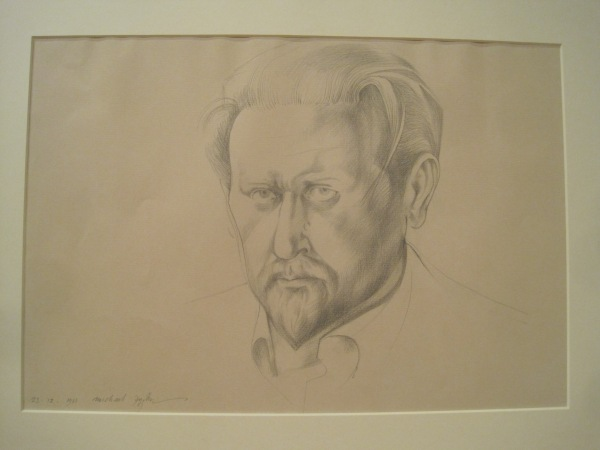 Self-portrait by Michael Ayrton (1961)