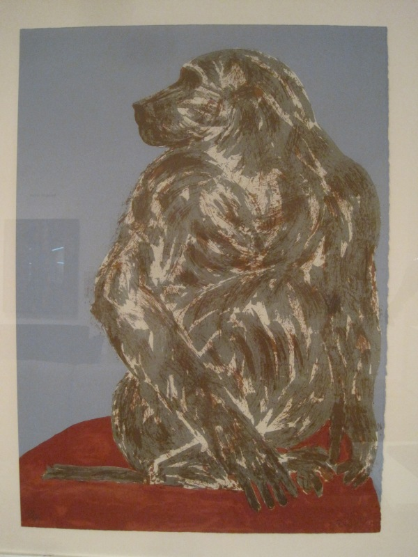Baboon by Dame Elizabeth Frink (1990)