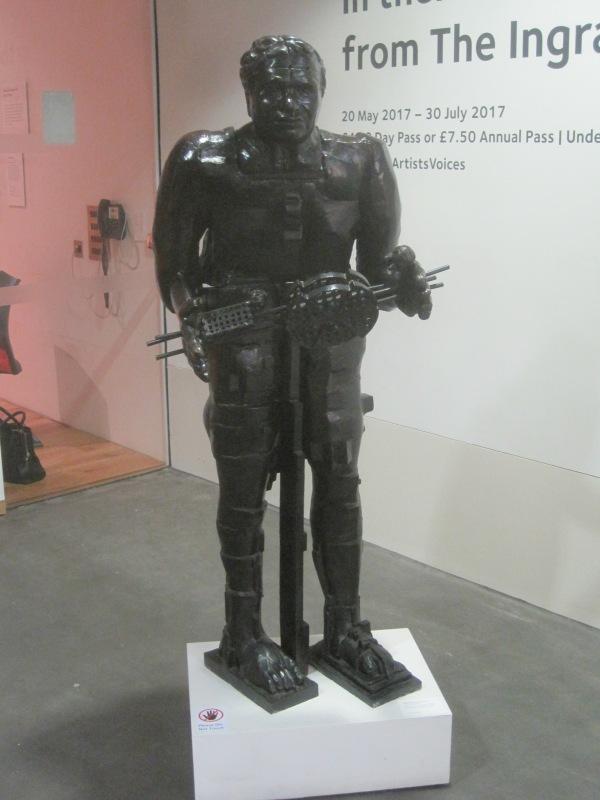 Standing figure by Eduardo Palaozzi