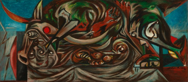 Untitled (c. 1938-41) by Jackson Pollock. The Art Institute of Chicago (c) The Pollock-Krasner Foundation ARS, NY and DACS, London 2016
