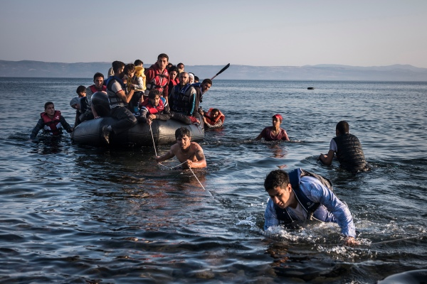 Lesbos, Greece, 27 July 2015 © Sergey Ponomarev for the New York Times