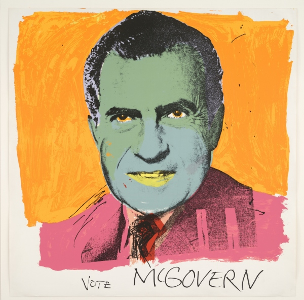 Vote McGovern, Colour screenprint (1972) by Andy Warhol © 2016 The Andy Warhol Foundation for the Visual Arts, Inc./Artists Rights Society (ARS), New York and DACS, London