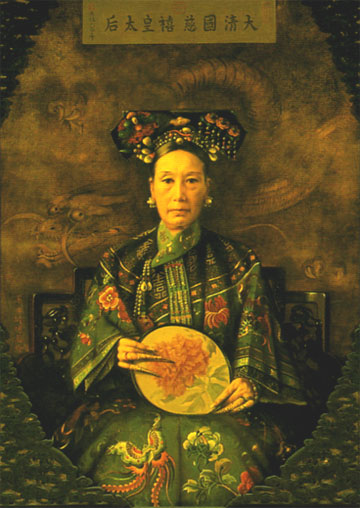 Empress Dowager Cixi, maybe the central figure of the last 50 years of the Chinese empire