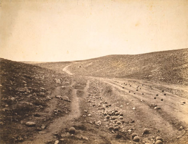 The Valley of the Shadow of Death (1855) by Roger Fenton