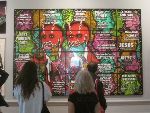 Beard Speak by Gilbert & George