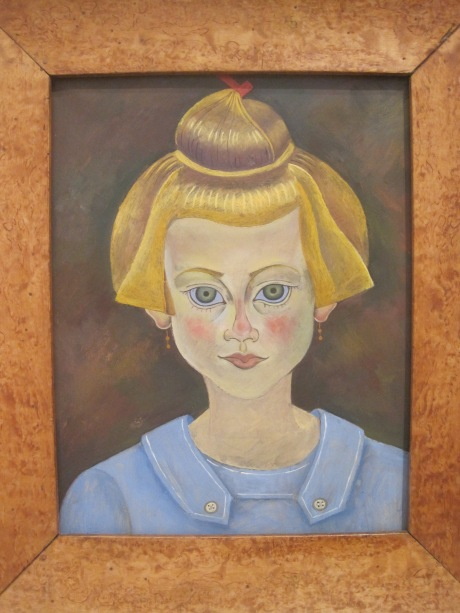 Portrait of a young girl, 1919