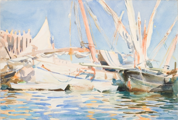 Palma, Majorca (1908) by John Singer Sargent © Fitzwilliam Museum, Cambridge