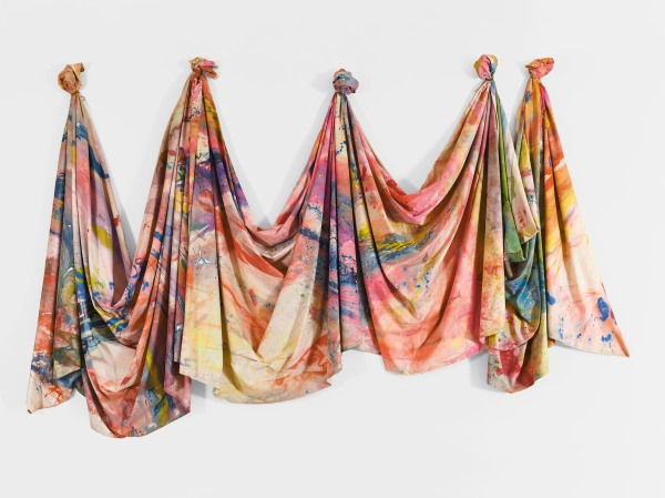 Carousel Change (1970) by Sam Gilliam © Tate. Image courtesy David Kordansky Gallery