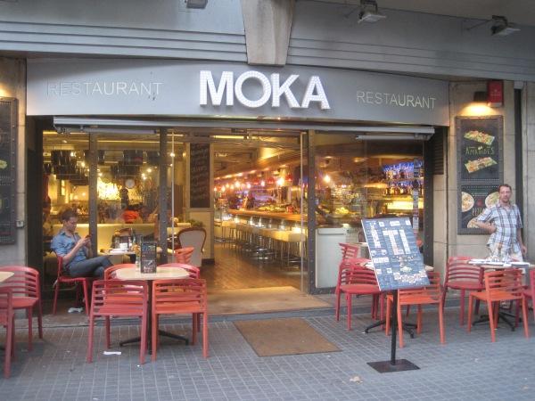Cafe Moka, Barcelona