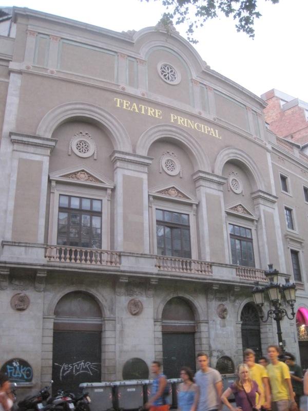 Teatre Principal, Barcelona