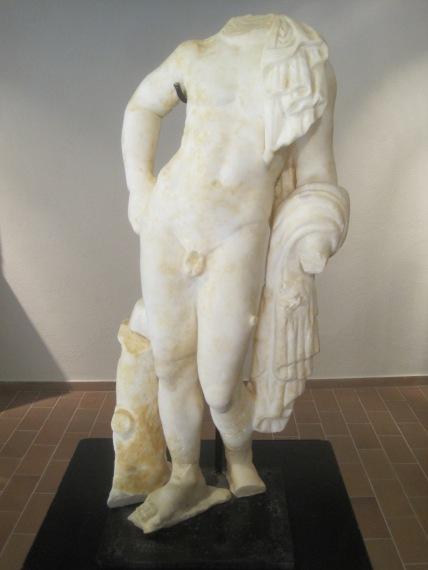 Roman statue, Museo Municipal de Tossa de Mar