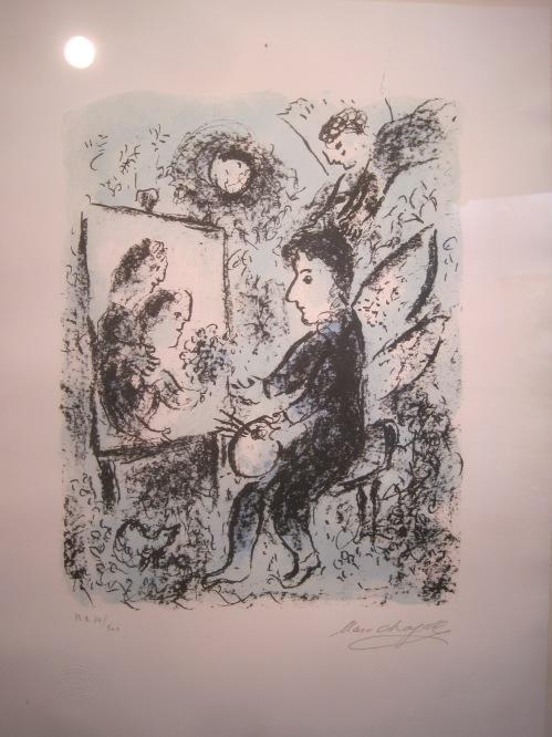 Vers l'autre clarté by Marc Chagall