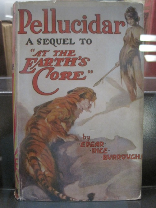 Original edition of Edgar Rice Burroughs novel Pellucidar