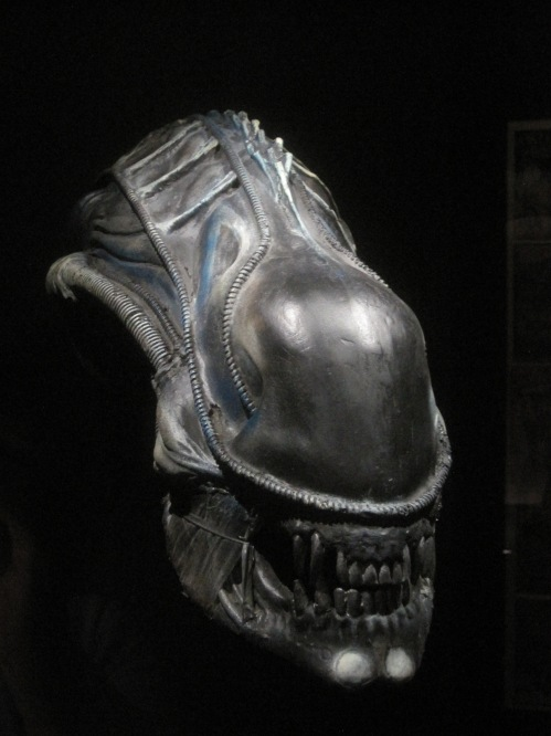 The most famous face in sci-fi? The alien mask from Alien (1986)