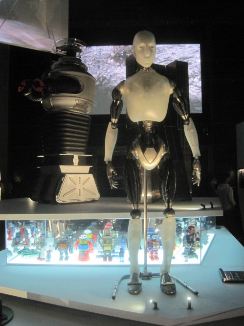 The Class B-9-M-3 General Utility Non-Theorizing Environmental Control Robot, known simply as Robot, from Lost in Space, and Sonny from I, Robot