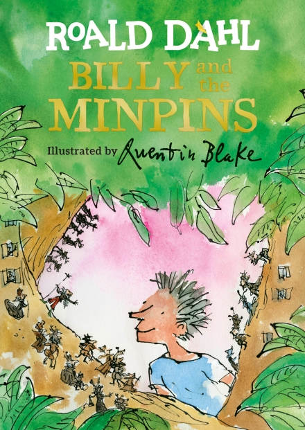 Cover of Billy and the Minpins by Quentin Blake