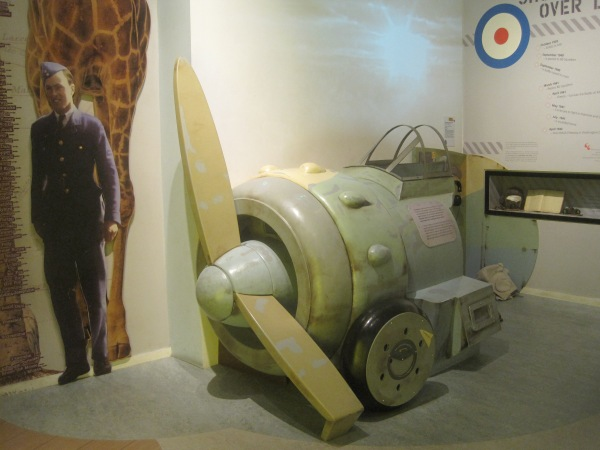 The RAF section of the museum