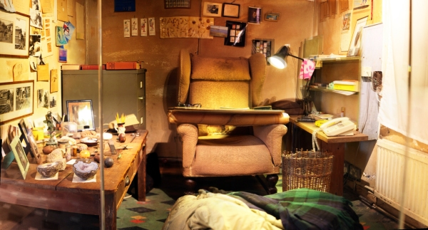 Inside Roald Dahl's original Writing Hut
