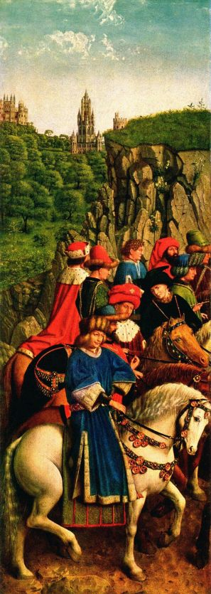 The Just Judges by van Eyck (1432)